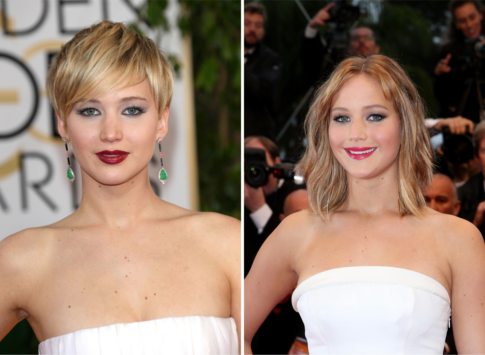 Jennifer Lawrence - Tunsori față rotundă