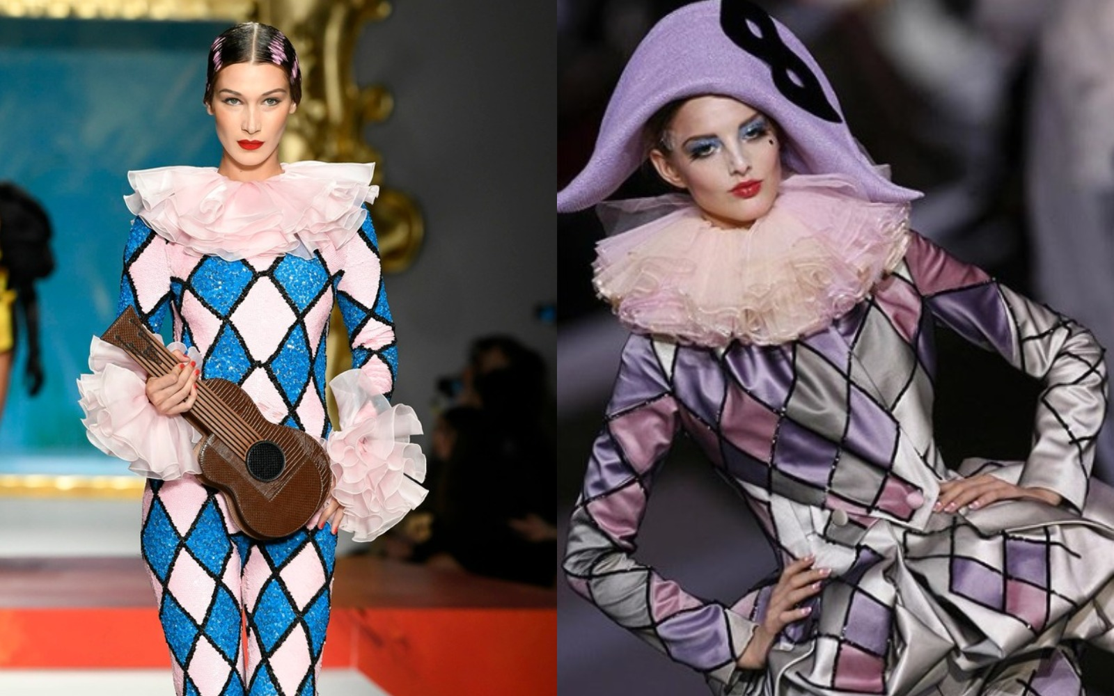 Uups! Dior Couture vs. Moschino
