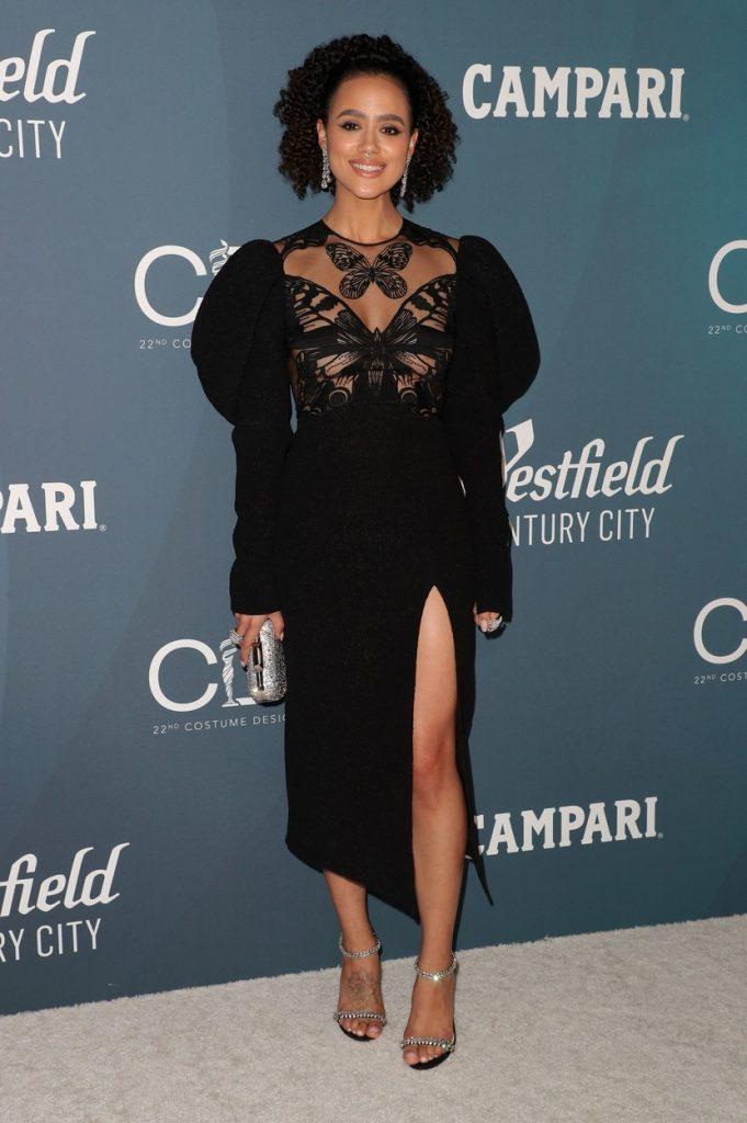 Nathalie Emmanuel 2nd Costume Designers Guild Awards