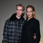 Uma Thurman, apariție inedită alături de fiul ei