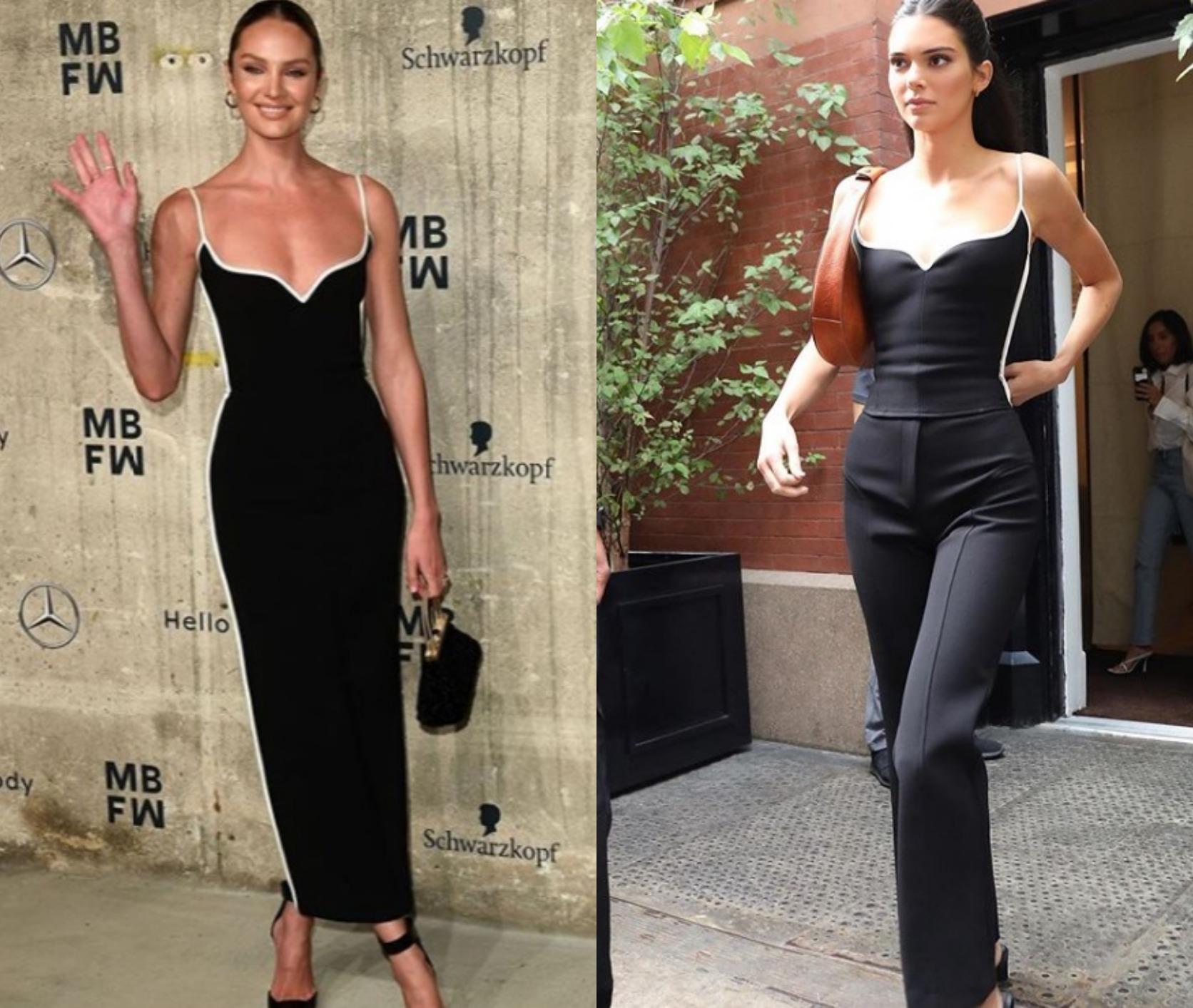 Cui îi stă mai bine: Candice Swanepoel sau Kendall Jenner?