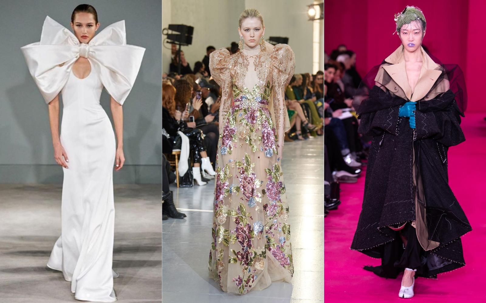 Paris Haute Couture 2020: propunerile Elie Saab, Maison Margiela şi Alexis Mabille