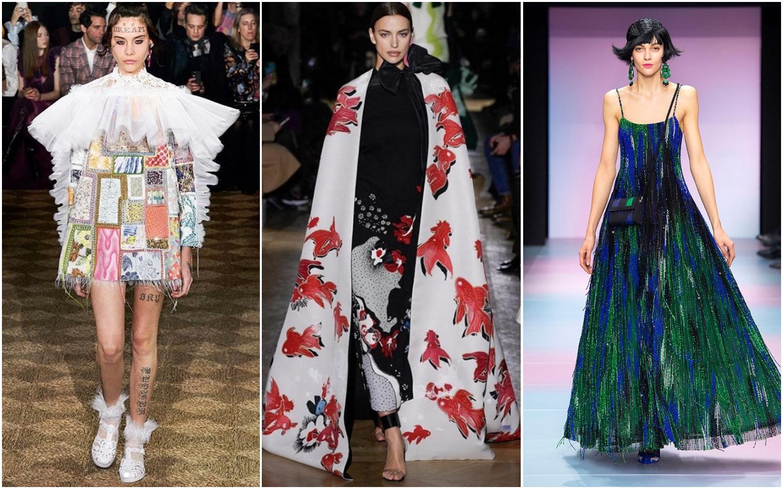 Paris Haute Couture 2020: Propunerile Viktor & Rolf, Valentino și Armani