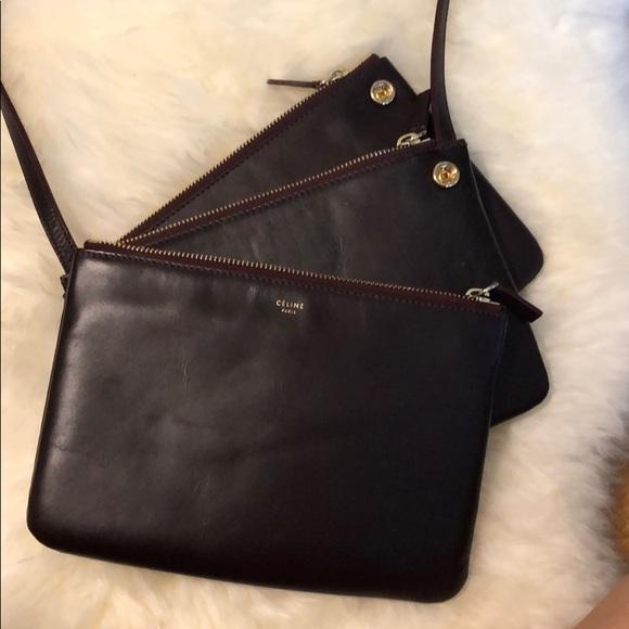 Old Celine Trio Bag