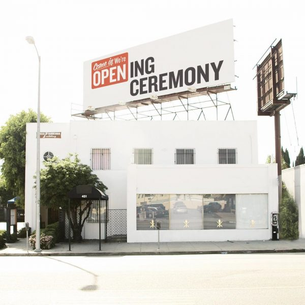 Toate magazinele Opening Ceremony se vor închide în 2020