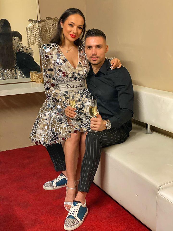 Vladuta Lupău și soțul ei, Adrian Rus