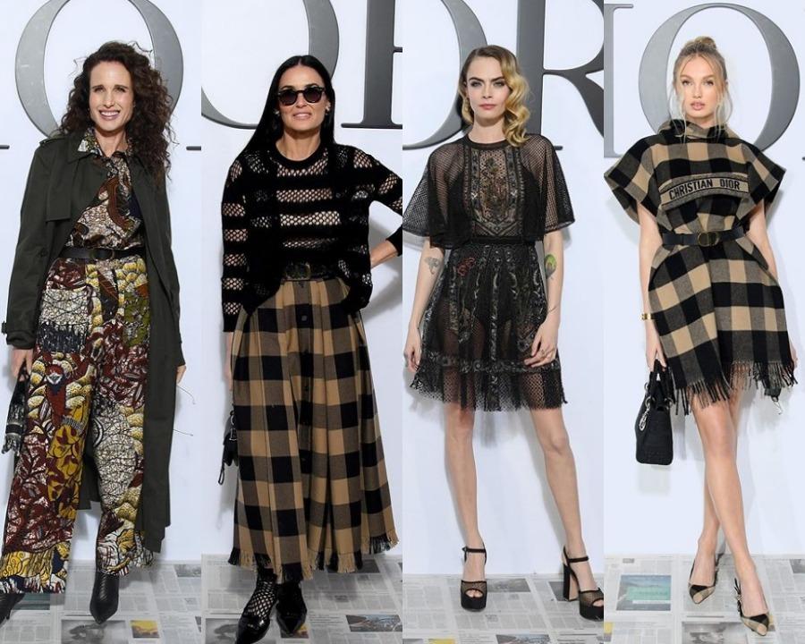 Vedete la prezentarea Dior toamnă/iarnă 2020