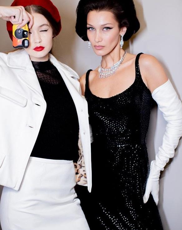 Gigi și Bella Hadid pentru Marc Jacobs, Foto: Instagram