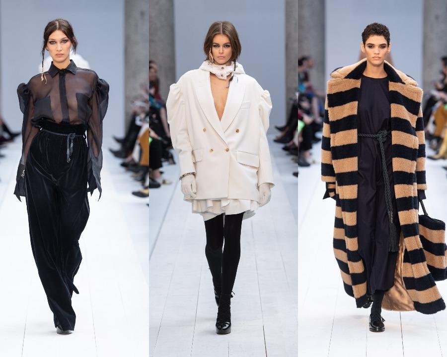 Milano Fashion Week 2020: propunerile Versace, Max Mara şi Alberta Ferretti