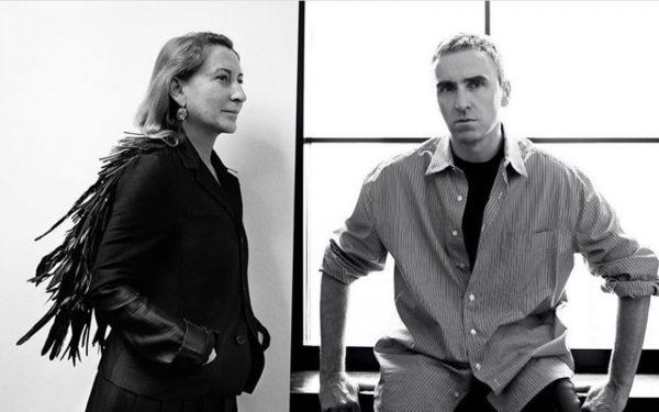 Raf Simons este noul co-director creativ Prada