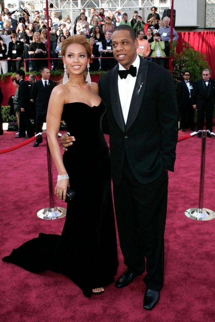 Beyonce şi Jay Z la premiile Oscar din 2005 Foto: profimediaimages