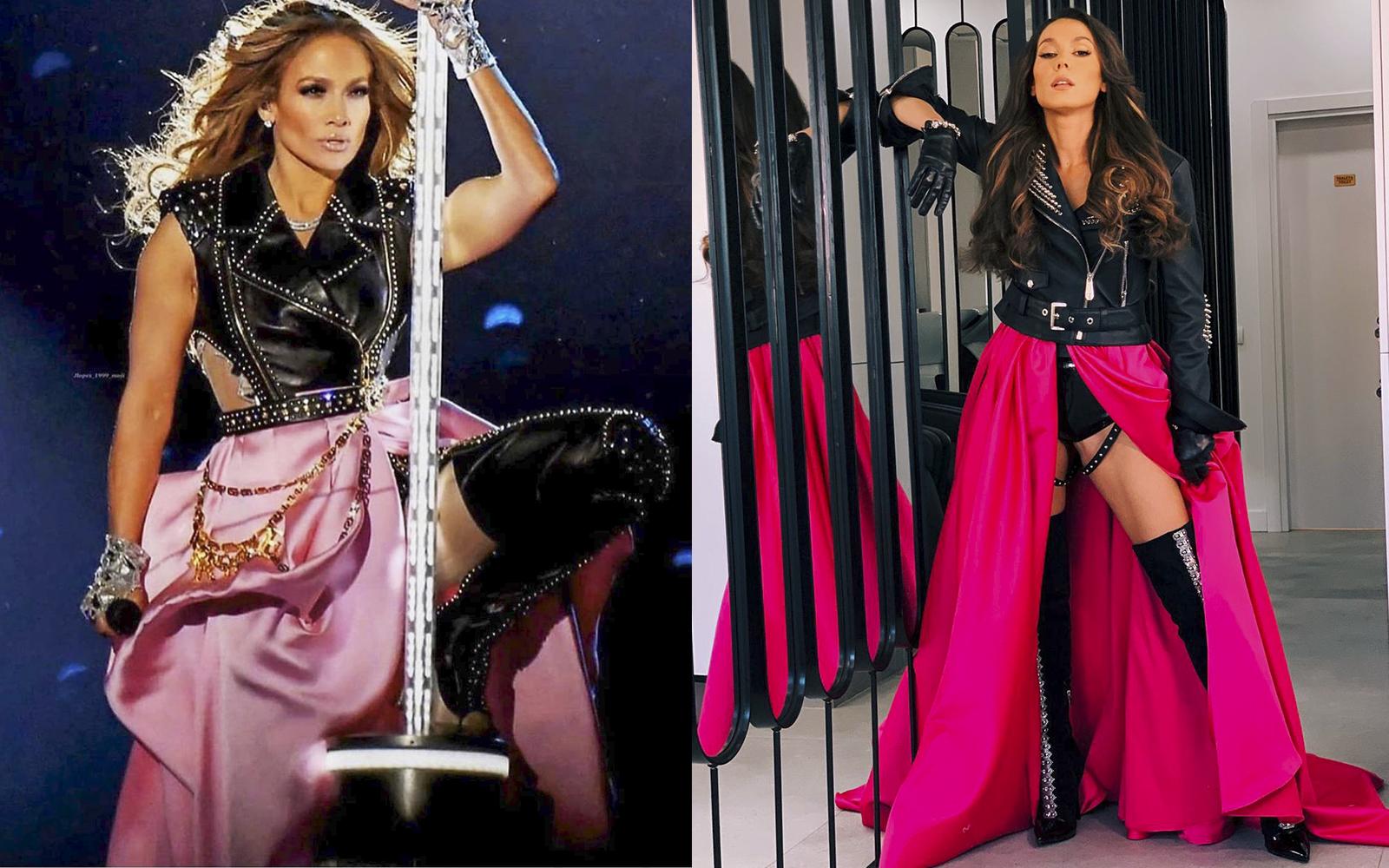 Irina Fodor, transformare inedită! Vezi cât de bine seamănă cu Jennifer Lopez