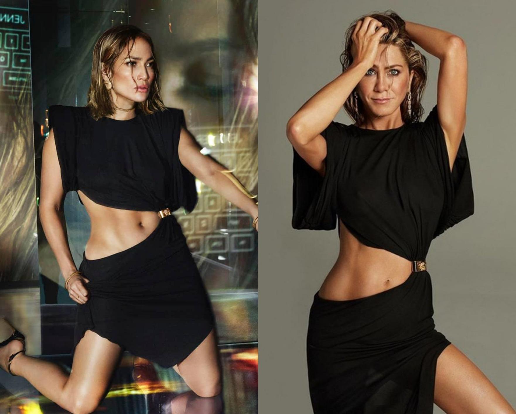 Cui îi stă mai bine: Jennifer Lopez sau Jennifer Aniston?