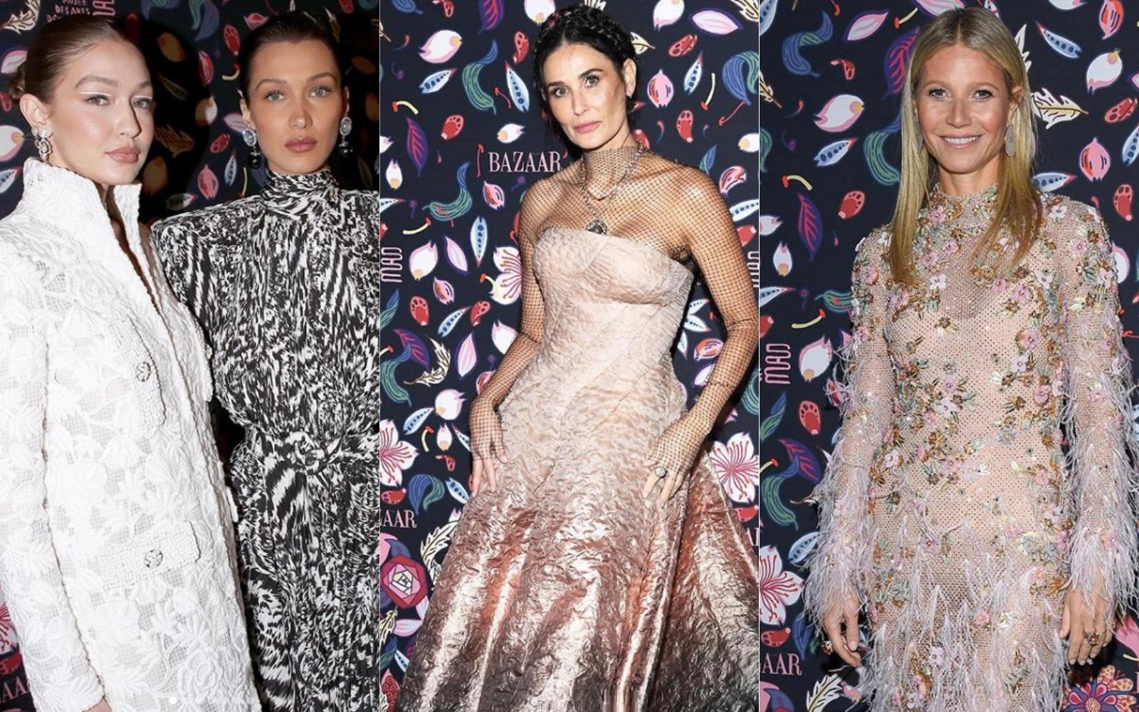Vedetele și-au dat întâlnire la expoziția Harper's Bazaar din Paris! Ce ținute spectaculoase au purtat!