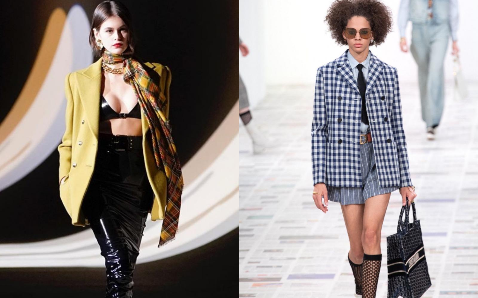 Paris Fashion Week 2020: show-urile impresionante Saint Laurent și Dior