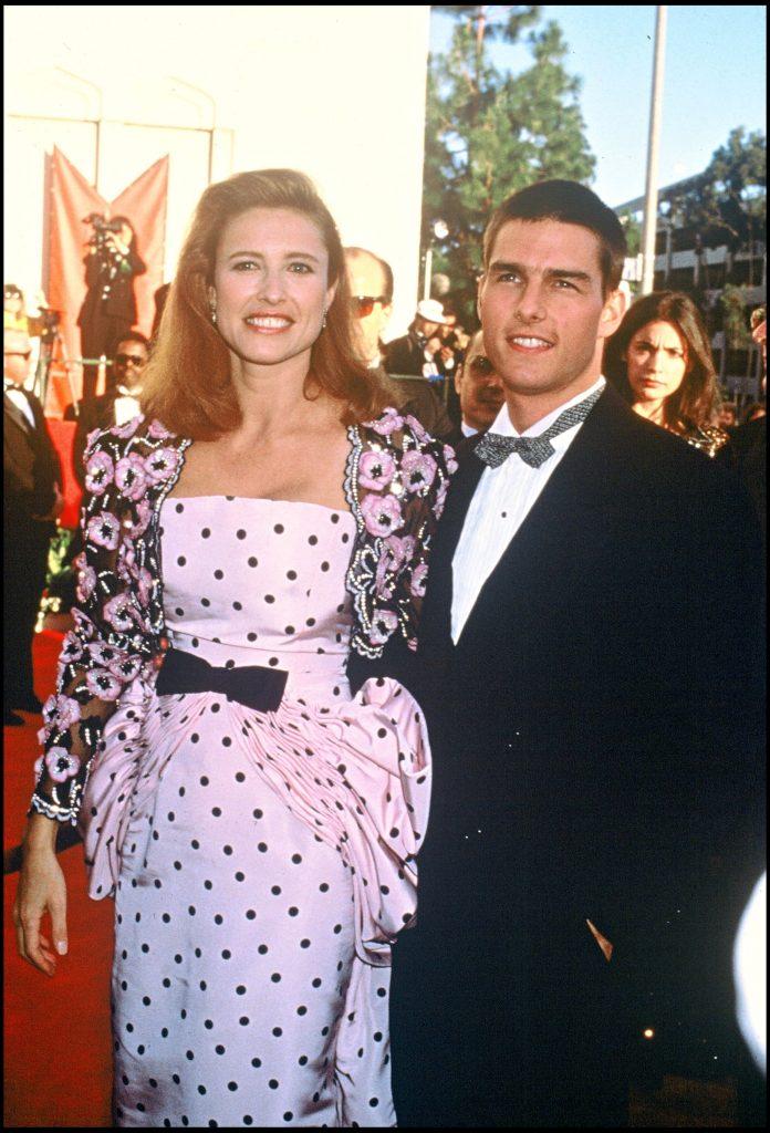 Tom Cruise și Mimi Rogers,la premiile Oscar din 1989 Foto: hepta.ro