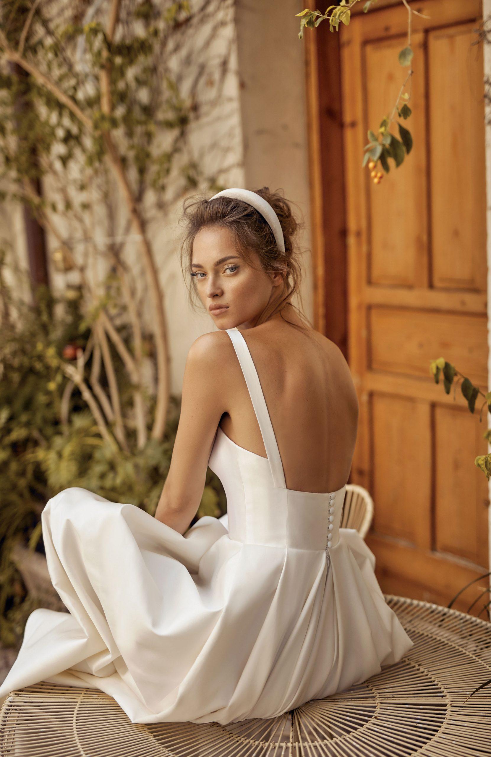 Lili Hod Spate gol trenduri toamna rochii de mireasa 2020