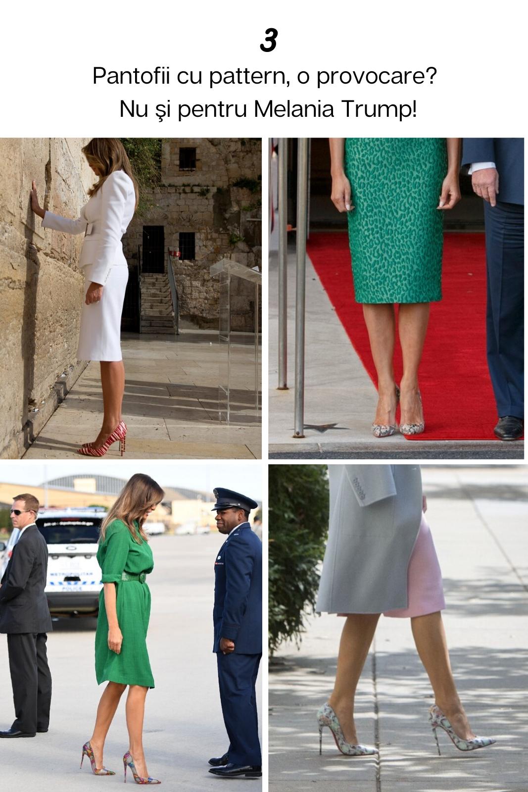 13 reguli de stil respectate de Melania Trump pentru a arăta mereu impecabil! Galerie Foto
