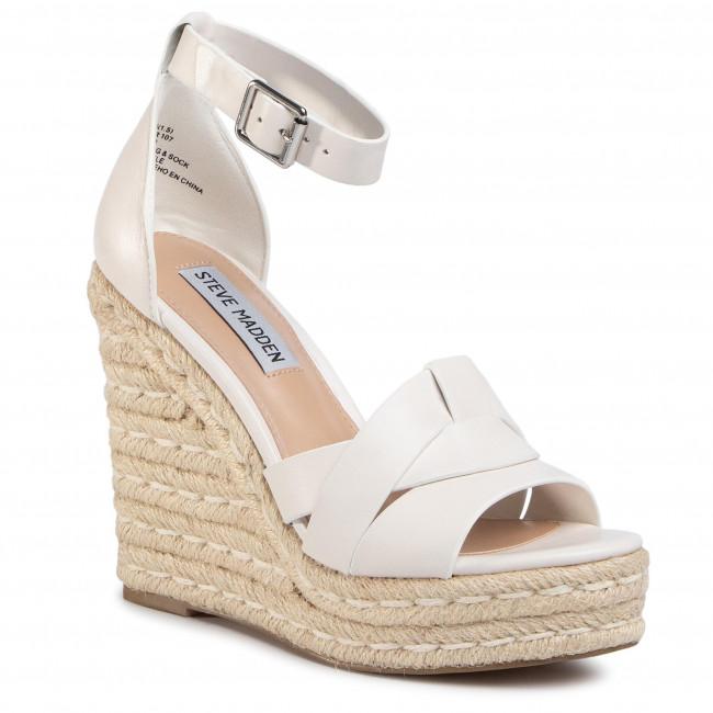 Pantofi de mireasa espadrile albe Srsa epantofi.ro Brand Steve Madden