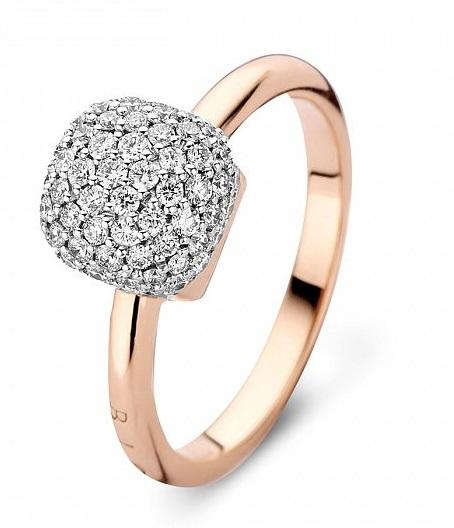 Inel de logodna inele logodna comanda online sfaturi recomandari aur alb rose gold aur roz Sursa Cellini