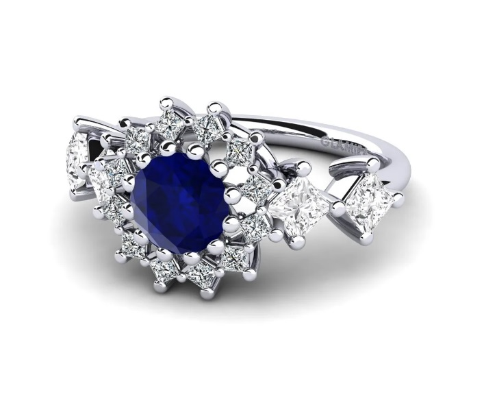 Inele de logodna comanda online aur diamant pietre zirconiu magazine online inel de logodna Sursa Glamira.ro