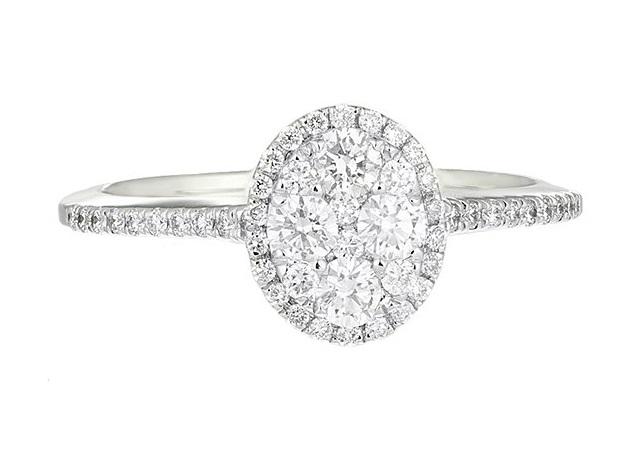 Inele de logodna comanda online aur diamant pietre zirconiu magazine online inel de logodna Sursa Sabion