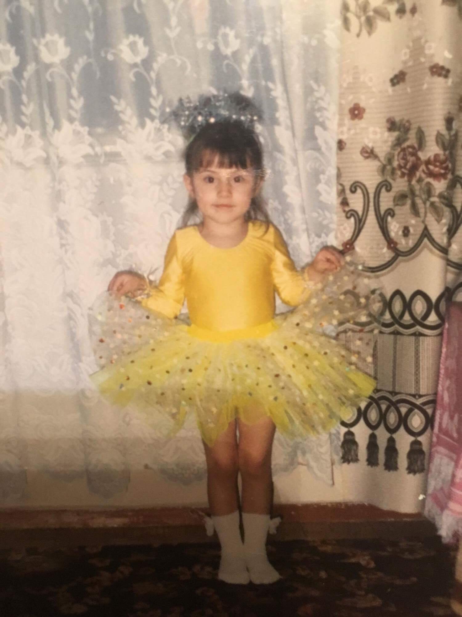 Nicoleta Nuc copil