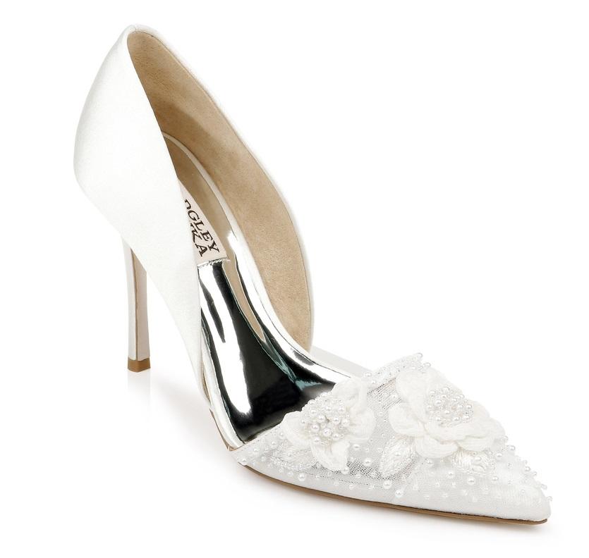Pantofi de mireasa sursa Badgley Mischka