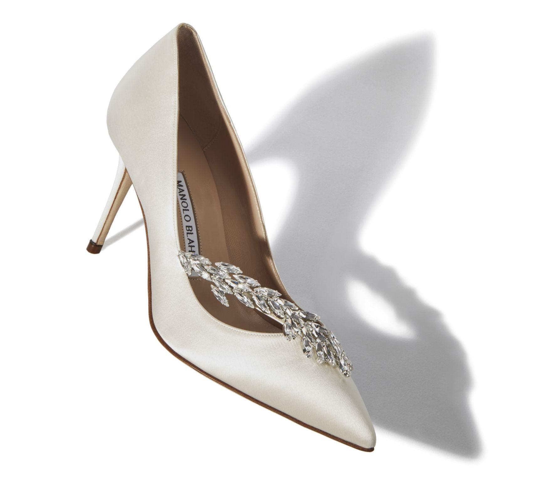 Pantofi de mireasa 2020 Stilettos Manolo Bahnik