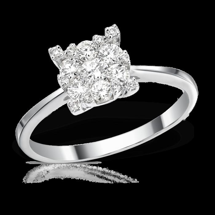 Inele de logodna comanda online aur diamant pietre zirconiu magazine online inel de logodna Sursa Teilor.ro