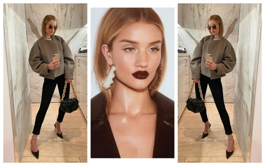 Ce rutină de beauty are Rosie Huntington-Whiteley