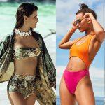 Costume de baie la modă în 2020: slipul cu talie înaltă