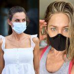 Cum integrează celebritățile masca în ținute