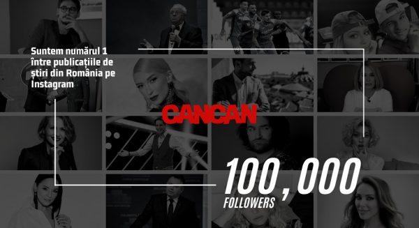 CANCAN, numărul 1 pe Instagram între publicațiile din România