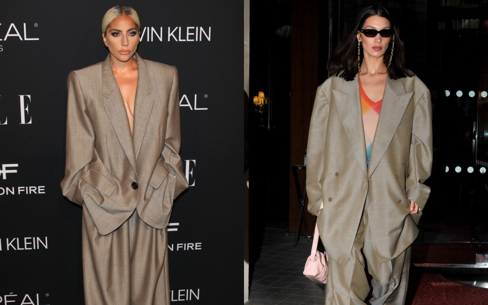 Cui îi stă mai bine: Lady Gaga sau Bella Hadid?