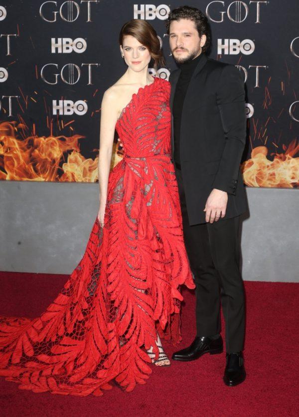 Rose Leslie este însărcinată! Kit Harington, tătic pentru prima oară