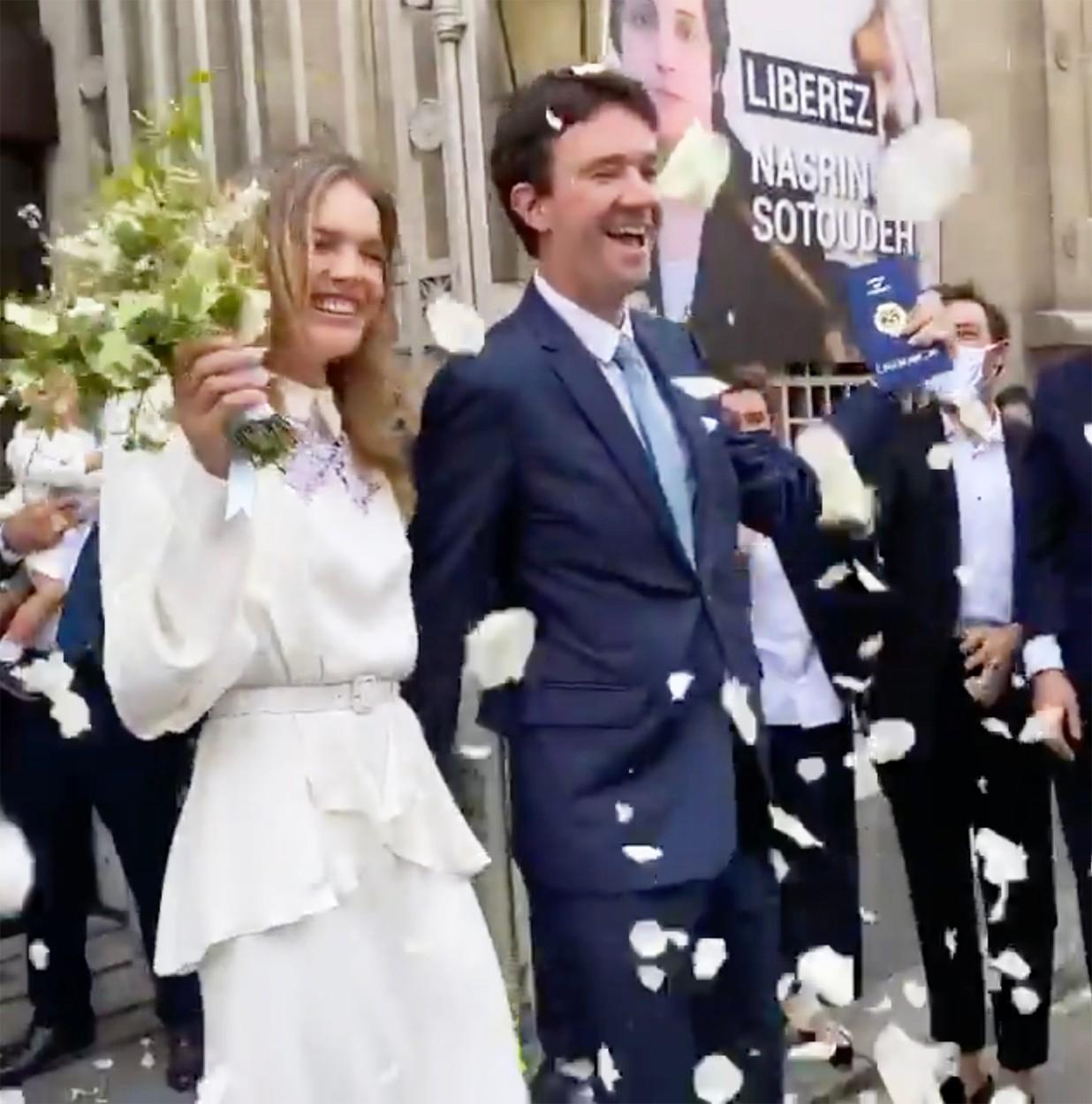 Natalia Vodianova şi Antoine Arnault s-au căsătorit. Ţinuta supermodelului a fost suprinzătoare!