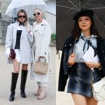 Streetstyle Paris Fashion Week: primele look-uri
