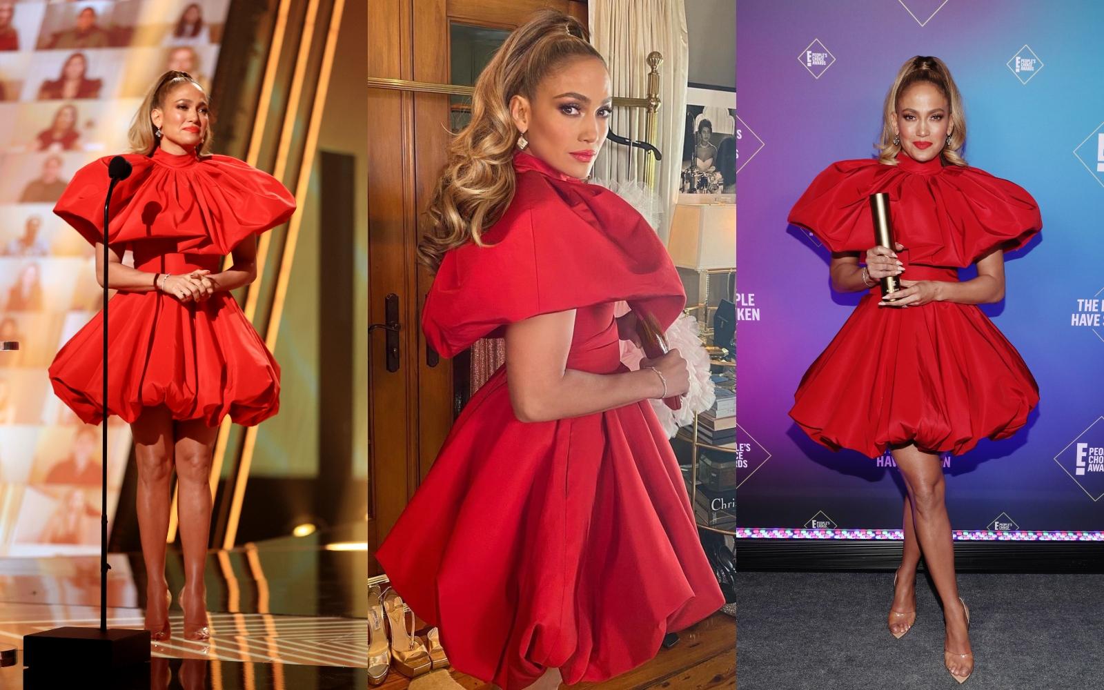 Jennifer Lopez, coafură inspirată de Ariana Grande