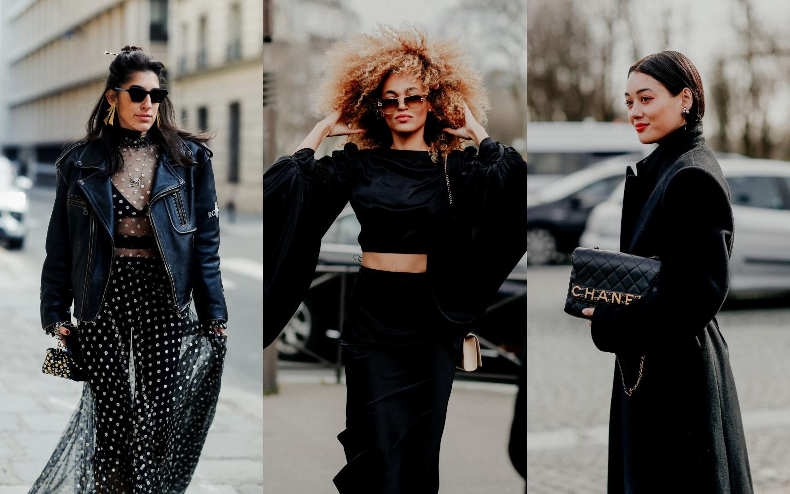 Trend alert: ținute all black