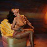 Rihanna a purtat bijuterii în valoare de 2 milioane de dolari în noua campanie Savage X Fenty