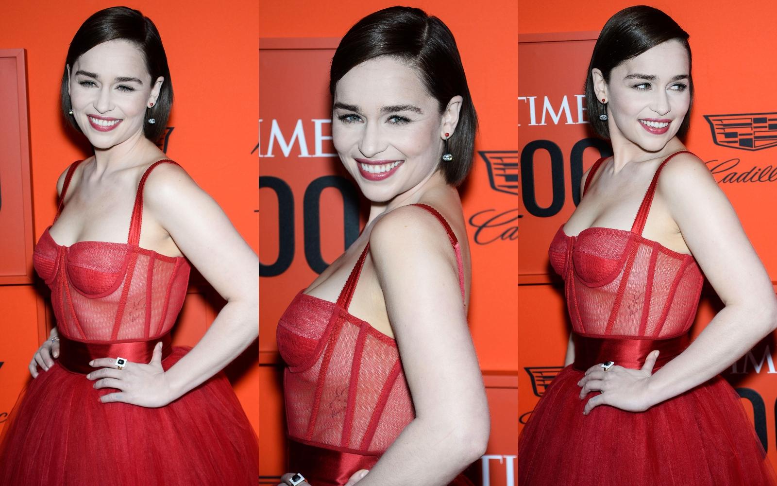 Ce rutină de beauty are Emilia Clarke