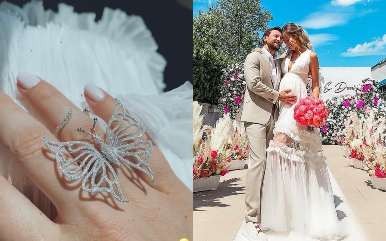 Dani Oțil și Gabriela Prisăcariu s-au căsătorit! Primele imagini de la eveniment