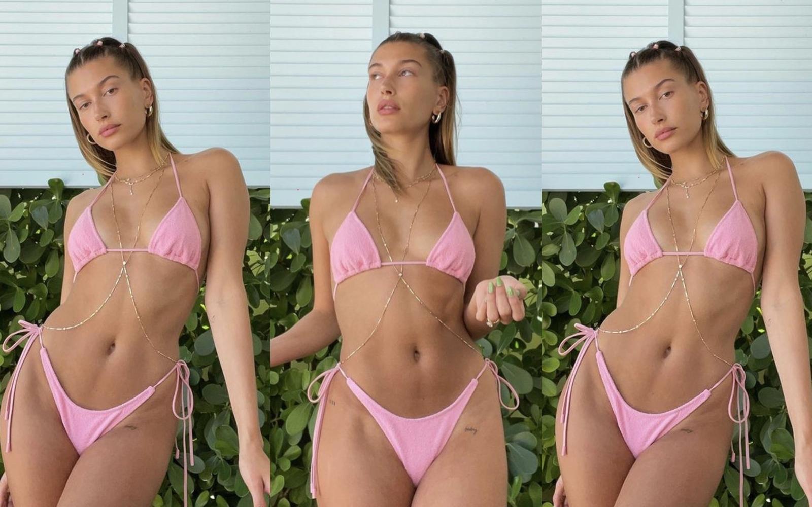 Hailey Bieber șochează la plajă! Valoare totala: 530.000 dolari