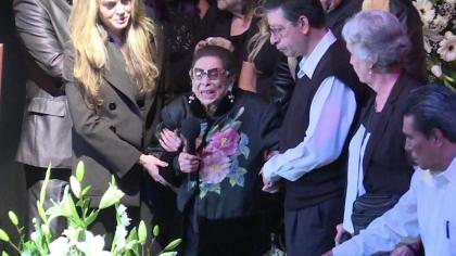 Mama lui Edith Gonzalez, distrusă de durere! Mesajul transmis la înmormântarea actriței