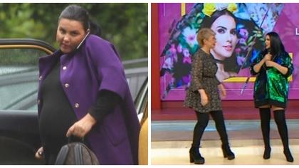 """Lavinia Pîrva, prima apariţie la TV de când a devenit mamă:""""Am luat câteva kilograme, dar le-am rezolvat!"""""""