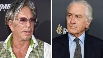 """Mickey Rourke: """"Robert De Niro a refuzat să lucreze cu mine! Când mă uit la el, e ca şi cum m-aş uita prin gaura fundului!"""""""