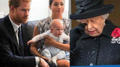 Micuţul Archie nu-şi va petrece primul Crăciun cu Regina! Suverana, îndurerată din cauza deciziei Ducilor de Sussex