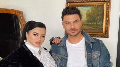 """Carmen de la Sălciua și Karym, cel mai nou cuplu din showbiz!? Ce a declarat artistul: """"Să îmbrățișăm dragostea pentru a fi fericiți"""""""
